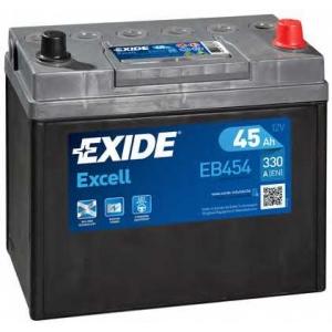 EXIDE EB454 Аккумулятор   45Ah-12v Exide EXCELL(234х127х220),R,EN330