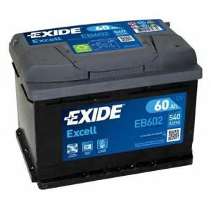 EXIDE eb602 Батарея аккумуляторная excell