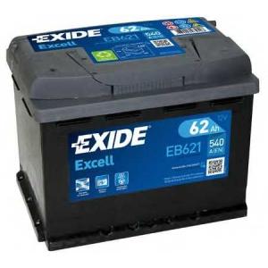 EXIDE EB621 Аккумулятор   62Ah-12v Exide EXCELL(242х175х190),L,EN540