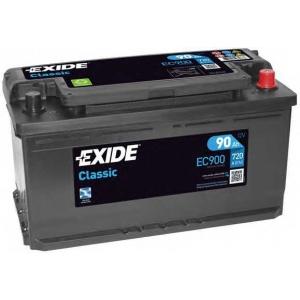 EXIDE EC900 Аккумулятор   90Ah-12v Exide CLASSIC(353х175х190),R,EN720