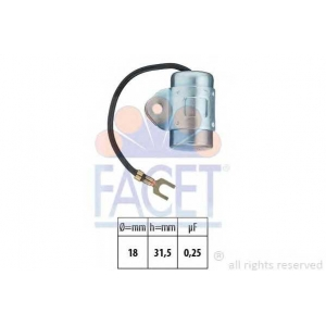 FACET 0.0602 Ignition capacitor