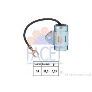 FACET 0.0912 Ignition capacitor