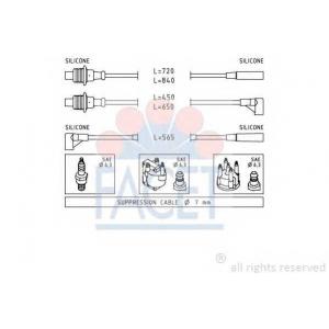 FACET 4.8748 Ignition cable set