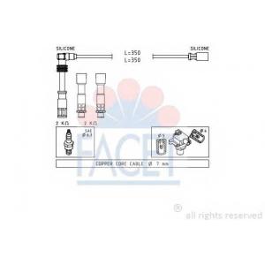 FACET 4.9491 Ignition cable set