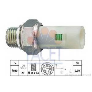 FACET S.R.L. 7.0076 Датчик давления масла (пр-во Facet)