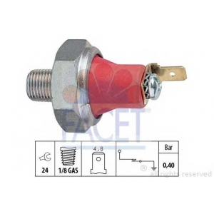 FACET S.R.L. 7.0173 Датчик давления масла (пр-во Facet)