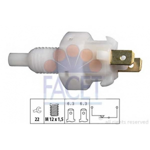 FACET 7.1004 1 810 004 Выключатель стоп-сигнала