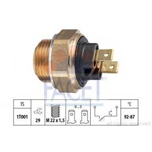 FACET S.R.L. 7.5000 Термовыключатель, вентилятор радиатора (пр-во Facet)