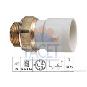 FACET S.R.L. 7.5182 Термовыключатель, вентилятор радиатора (пр-во Facet)