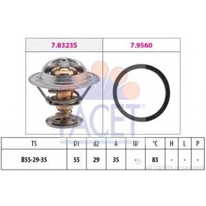 FACET 7.8323 Термостат, охлаждающая жидкость