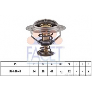 FACET 7.8379S Thermostat
