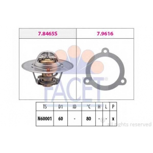 FACET 7.8465 Thermostat