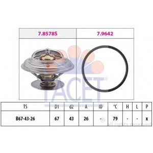 FACET 7.8578 Thermostat