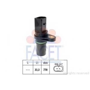 FACET 9.0640 Sensor, Crankshaft