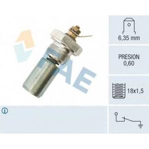 FAE 12260 Датчик давления масла BX/C15/205 M18x1,5 0.6Bar (под гайку)