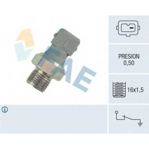FAE 12460 Датчик давления масла