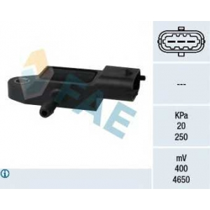 FAE 15106 Датчик, давление во впускном газопроводе