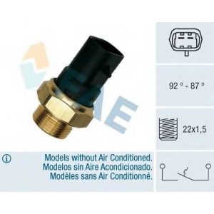 FAE 37220 Датчик включения вентилятора