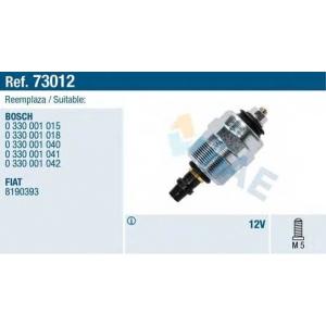 FAE 73012 Отсекатель топлива Audi 80/100 1.6-2.4D/TD VW Caddy 2/Golf 3/LT/B-3/T-2/T-4 1.6-2.5D/TDi