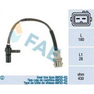 FAE 79125 Датчик импульсов; Датчик частоты вращения, автоматическая коробка передач