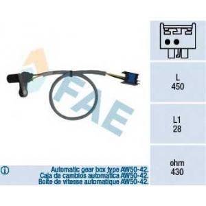 FAE 79126 Датчик импульсов; Датчик частоты вращения, автоматическая коробка передач