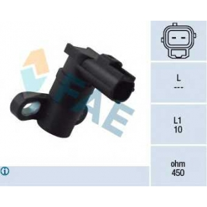 FAE 79161 Датчик частоты вращения, управление двигателем