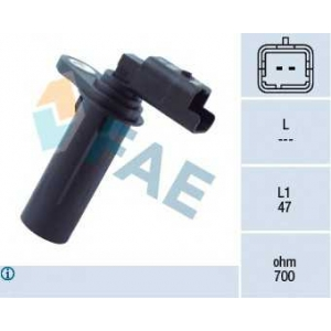 FAE 79251 Датчик импульсов; Датчик частоты вращения, ступенчатая коробка передач