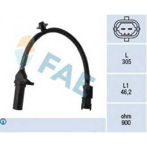 FAE 79334 Датчик колінчатого вала Hyundai i30 1.4,1.6 07- /Kia Ceed 1.4,1.8 07-