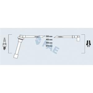 FAE 85821 Комплект проводов зажигания