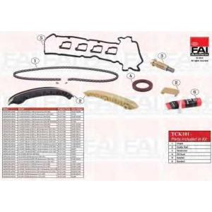 FAI AUTOPARTS TCK101 К-кт ланцюга приводу р/вала MB C (W203) C 180 02-/E (W211) 02-/SLK 04- (з сальником і прокладками)