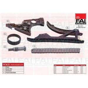 FAI AUTOPARTS TCK22 К-кт ланцюга приводу ГРМ BMW (E81, E87) 116i/118i/120i/(E90) 316i/318i/320i