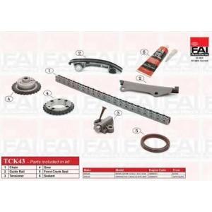 FAI AUTOPARTS TCK43 Комплект цели привода распредвала