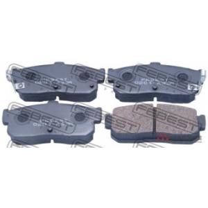 FEBEST 0201-A33R Комплект тормозных колодок, дисковый тормоз Инфинити Ай 30