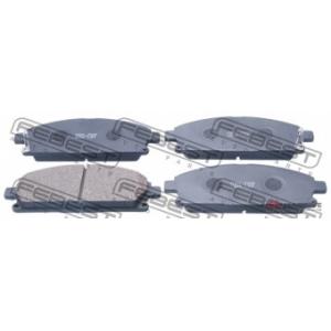FEBEST 0201-T30F Комплект тормозных колодок, дисковый тормоз Инфинити Кью-Икс 4