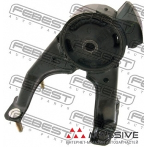 FEBEST TM-105 ПОДУШКА ДВИГАТЕЛЯ ЗАДНЯЯ 4AFE/5EFE AT (TOYOTA CALDINA CT196/ET196 1992-2002 TOYOTA CARINA E AT190/ST191/CT190 1992-1997 TOYOTA CARINA E(UKP) AT190/ST190 1992-1997 TOYOTA CARINA FF AT191/ST190 1992-1996 TOYOTA CORONA AT190/ST190 1992-1998) FEBEST