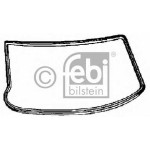 FEBI BILSTEIN 02736 Прокладка, ветровое стекло
