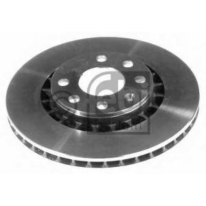 FEBI 05179 Тормозной диск Lanos 1.6i