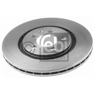 FEBI 06548 Тормозной диск передний