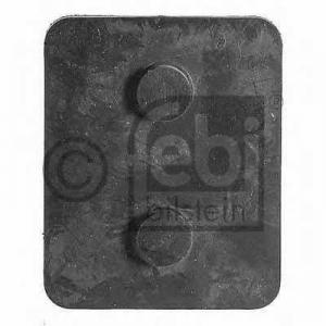 Упорная прокладка, листовая ресс 07770 febi - MERCEDES-BENZ LK/LN2  O 814, O 814 L