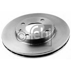 FEBI 08557 Тормозной диск