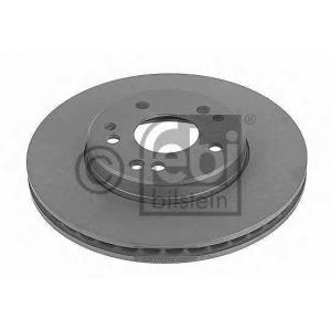 FEBI 10683 Тормозной диск передний