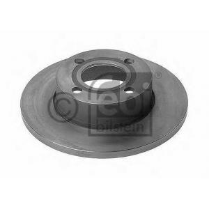 FEBI 10915 Тормозной диск передний