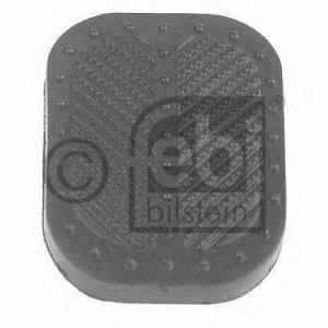 FEBI BILSTEIN 10918 Педальные накладка, педаль тормоз; Накладка на педаль, педаль сцепления