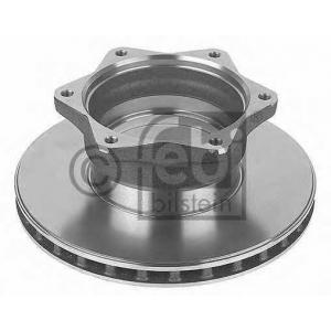 FEBI 10920 Тормозной диск задний