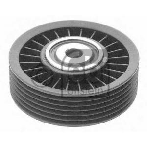 Паразитный / ведущий ролик, поликлиновой ремень 12343 febi - FIAT BRAVO I (182) Наклонная задняя часть 2.0 HGT 20V (182.AD)