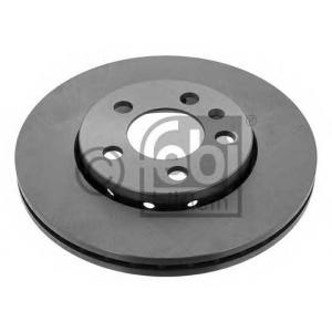 FEBI 14404 Гальмівний диск SKODA/VW Fabia/Octavia/Golf IV/Polo \F