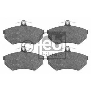 FEBI BILSTEIN 16008 Комплект тормозных колодок, дисковый тормоз