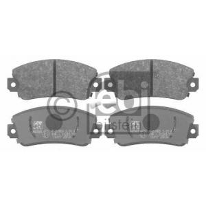 FEBI BILSTEIN 16077 Комплект тормозных колодок, дисковый тормоз