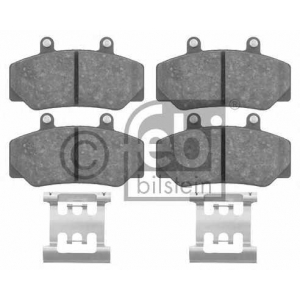FEBI BILSTEIN 16211 Комплект тормозных колодок, дисковый тормоз