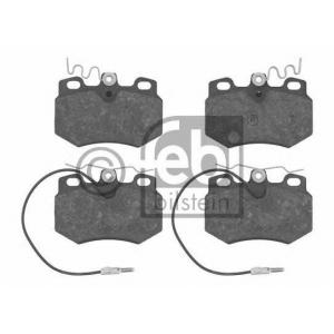 FEBI BILSTEIN 16242 Комплект тормозных колодок, дисковый тормоз